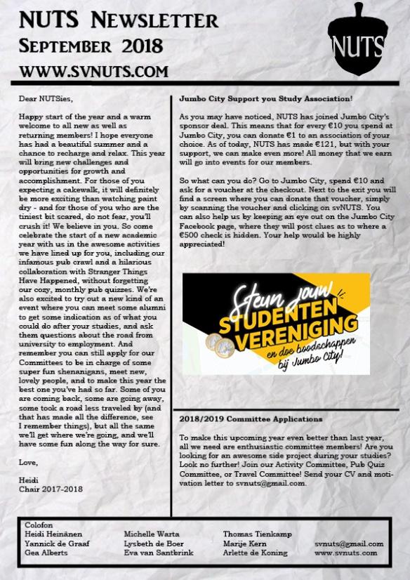 Newsletter September2