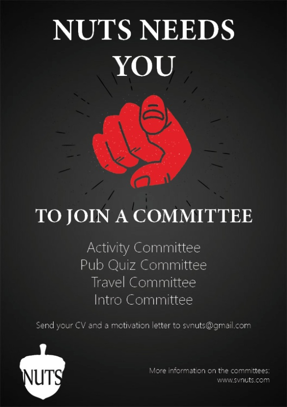 Committee Application Poster